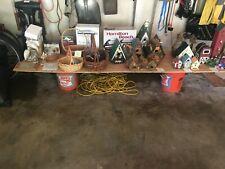 Wooden outdoor bird house collection