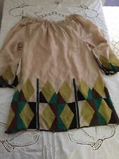 Womens TRACY REESE NEW YORK silk Dress Medium