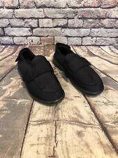 PROPET Mens Sz 10.5 Cronus Black Elastic Diabetic Slippers Comfort Shoes