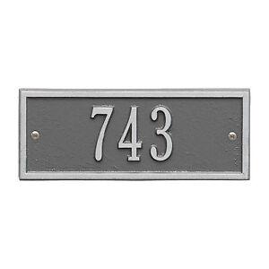 Hartford Petite Personalized Address Plaque