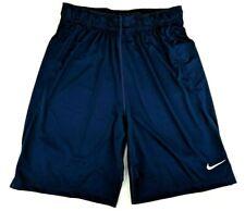 Nike Mens Dri Fit Team Fly Training Basketball Shorts W/Drawstring Navy Size S