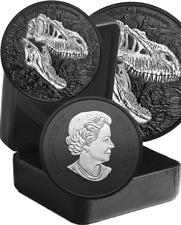 2021 Reaper Death Discovering Dinosaur Tyrannosaur $20 1OZ Silver Pf Coin Canada