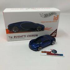 '16 Bugatti Chiron * 2021 Hot Wheels id Car Case C * NEW!!