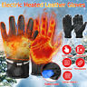 Outdoor Electric Heated Warm Gloves  Control Level Battery Power Hand Winter