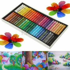 50 Color Non-Toxic Oil Soft Pastel Children's Galley Drawing Crayons Set Kids