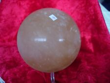 golden calcite sphere   Cj4