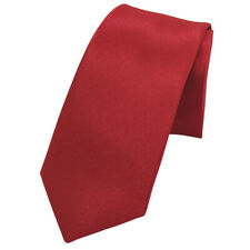 Mens Wedding Slim Classic Silk Tie Party Fashion Stripes Necktie Plain Satin Tie