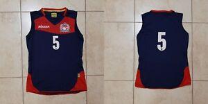 VC Nesselande Volleyball Jersey Match Worn Netherlands Shirt Mikasa # S