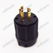 L14-20P 4 Prong Gasoline Generator Locking Plug 20A 125/250V UL Approval Safety