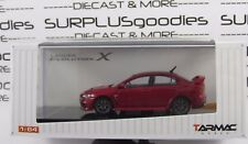 Tarmac Works 1:64 Mitsubishi Lancer Evolution EVO X Final Edition Rally Red