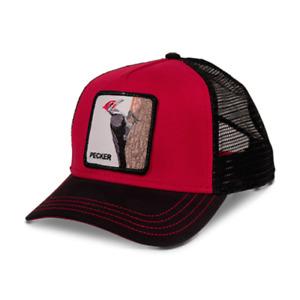 Goorin Bros Woody Wood Animal Series Trucker Hat - Red