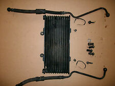 86 87 88 1986 SUZUKI GSXR 1100 OEM OIL COOLER AND LINES REPAIRED NO LEAKS
