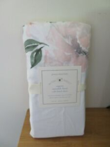 POTTERY BARN BABY PICTURE PERFECT ORGANIC MEREDITH FLORAL CRIB FITTED SHEET NEW