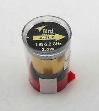Bird 2.5L2 Thruline Model 43 Wattmeter Element 2.5W 1990-2200 Mhz (New)