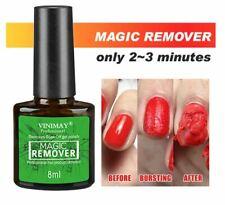 Vinimay Original Burst Magic Nail Gel Polish Remover Safe Clean Soak Off 8ml UK