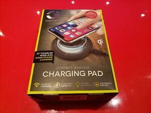 SMARTGEAR Compact Wireless Qi-device Charging Pad iPhone XS/XR/XS Samsung Phones