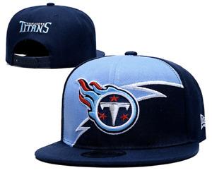 Tennessee Titans NFL Football Embroidered Hat Snapback Adjustable Cap