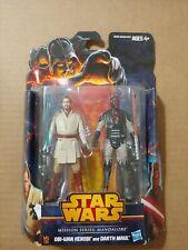 Star Wars Mission Mandalore Obi Wan Kenobi and Darth Maul