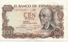 ESPAGNE SPAIN ESPANA 100 PTS 1970 état voir scan 085