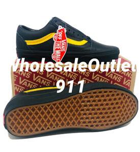 New Vans Old Skool Leather Shoes Size Men's 7.5 / Women's 9