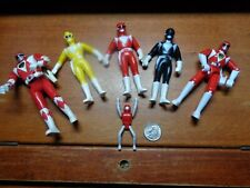 VINTAGE 1993 POWER RANGERS LOT OF 6 BANDAI, BOOTLEG