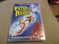 """RARE! DVD """"PETER AU PAYS DES REVES"""" par l'équipe de Roger Rabbit / DESSIN ANIME"""