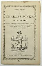 HANNAH MORE The History Of Charles Jones Footman Glasgow Scotland SCARCE C1839