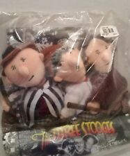 1999 Highlight Stars The Three Stooges Bean Bag Collectibles Curly Moe Larry