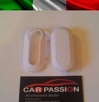 COVER CHIAVE GUSCIO BIANCA FIAT 500 PUNTO EVO BRAVO PANDA 500L KEY SHELL