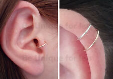 Helix / Cartilage Fake Nose Ear Cuff Earring No Piercing Required - Fake Ring