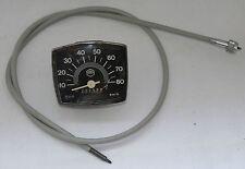 Vespa V50 50 N Special - Tacho eckig Tachometer 80 km/h original Veglia Piaggio
