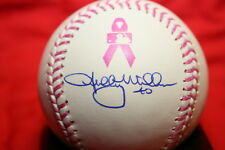 SHELBY MILLER AUTOGRAPHED AUTO SIGNED MOTHERS DAY PINK MAJOR LEAGUE BASEBALL COA