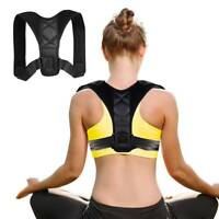 Adjustable Support Correction Lumbar Back Shoulder Corrector Brace Belt Posture