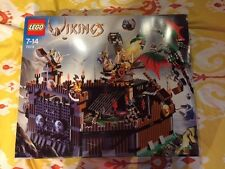 NEW & Sealed LEGO Vikings Viking Fortress against the Fafnir Dragon (7019)