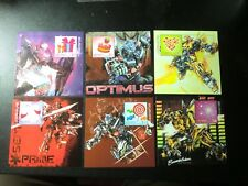 Taiwan Stamp-2012-Transformers movie- Special Individualized  Stamps- 6 PCS