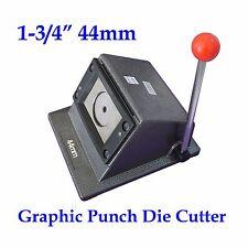 "DIY 1-3/4"" 44mm  Cutter Button maker Graphic Stand Die Cutter ON SALE!!"
