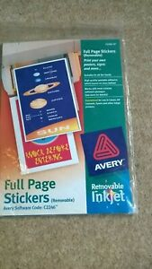 Avery -  Printer project kit  - 10 full page stickers