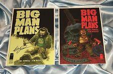 BIG MAN PLANS #2~SET OF BOTH~IMAGE COMICS~ERIC POWELL STORY/ART~GOON ARTIST~NM