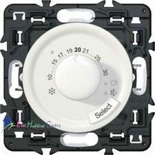 Thermostat fil pilote Legrand Céliane blanc 67410+68245+80251