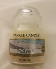 Yankee Candle BEACH WAVES Jar- Rare Hard to Find from UK- New 104g/ 3.7 oz