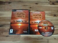 Agatha Christie 'Evil Under The Sun' PC DVD ROM Game Complete With Manual GC