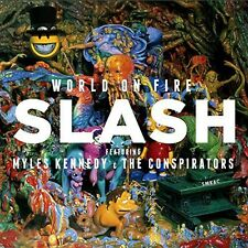 Slash - World on Fire [New CD] UK - Import