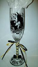BATMAN AND CATWOMAN Custom Wedding Glasses