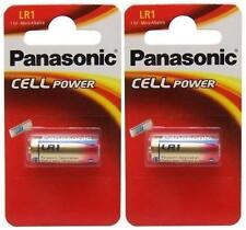 2 X Panasonic Lr1 Batería 1.5 v (tipo N / mn9100) (2 Baterías) - Nuevo