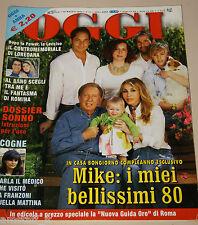 OGGI=2004/22=MIKE BONGIORNO=ROBERTO BAGGIO=ORLANDO BLOOM=TANIA CAGNOTTO=FRANZONI