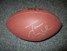 New York Giants TOM COUGHLIN Signed NFL Football