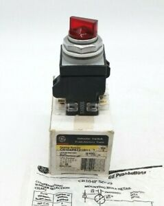 GE CR104PST21R11S2 Selector Switch