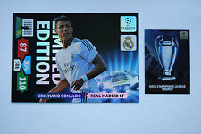 Ronaldo XXL Limited Edition Panini Adrenalyn XL Champions League 2013/14