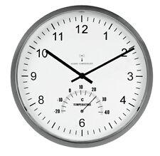 Orologio da parete con termometro x ditta fabbrica uffico casa chiesa bar chalet