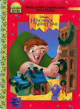 Hunchback coloring book RARE UNUSED